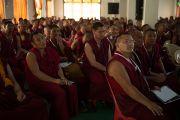 За ходом конференции следили несколько тысяч тибетских монахов. Мандгод, Индия. 17 января 2013 г. Фото: Тезнин Чойджор (Офис ЕСДЛ)