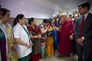 Дээрхийн Гэгээнтэн Далай Лам Бүх Энэтхэгийн Анагаах Ухааны Хүрээлэнд (БЭАУХ) айлчлав