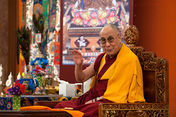 Учения Далай-ламы в Дели завершились дарованием благословения Будды Медицины