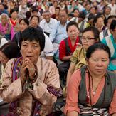 Второй день учений Далай-ламы в Салугаре