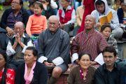 Буддисты из Бутана на церемонии освящения статуи Будды Татхагата Цал. Равангла, штат Сикким, Индия. 25 марта 2013 г. Фото: Тензин Чойджор (офис ЕСДЛ).
