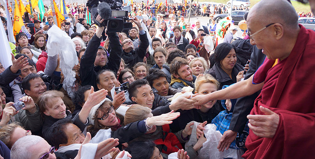 Далай-лама прибыл в Швейцарию