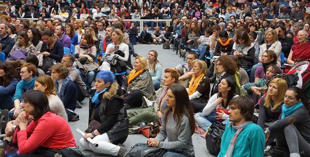 В Тренто Его Святейшество Далай-лама говорил о счастье в нашем неспокойном мире