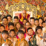 Далай-лама посетил Тибетский институт в Риконе