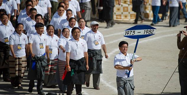 Его Святейшество Далай-лама посетил празднование золотого юбилея Центральной тибетской школы в Далхузи