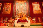 """Его Святейшество Далай-лама дарует учения по тексту Атиши """"Светоч на пути к просветлению"""". Фрайбург, Швейцария. 13 апреля 2013 г. Фото: Manuel Bauer"""