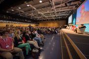 """Во время конференции """"Как жить и умереть в мире"""". Лозанна, Швейцария. 15 апреля 2013 г. Фото: Manuel Bauer"""