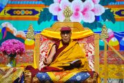 Его Святейшество Далай-лама во время учений в Луисвилле. Штат Кентукки, США. 20 мая 2013 г. Фото: Сонам Зоксанг
