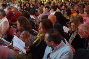 На учения Его Святейшества Далай-ламы в Луисвилле собралось более шести тысяч человек. Штат Кентукки, США. 20 мая 2013 г. Фото: Джереми Рассел (офис ЕСДЛ)