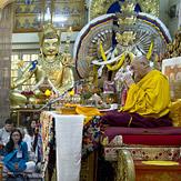 """Первый день учений по поэме Шантидевы """"Вступление на путь бодхисаттвы"""" в Дхарамсале"""