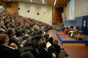Театр Святого Давида при университете Отаго, где проходила встреча Его Святейшества Далай-ламы со студентами. Данидин, Новая Зеландия. 11 июня 2013 г. Фото: Джеки Уокерleft