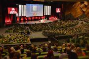Более 5800 человек пришли в конгресс-центр Мельбурна на лекцию Его Святейшества Далай-ламы. Мельбурн, Австралия. 18 июня 2013 г. Фото: Rusty Stewart/DLIA 2013