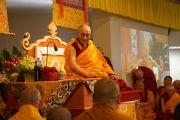 Его Святейшество Далай-лама дарует учение по Сутре сердца в храме Куан Мин. Мельбурн, Австралия. 19 июня 2013 г. Фото: Джереми Рассел (офис ЕСДЛ)