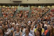 Более  трех тысяч человек посетили учения Его Святейшества Далай-ламы в Дарвине, Австралия. 23 июня 2013 г. Фото: Джереми Рассел (офис ЕСДЛ)