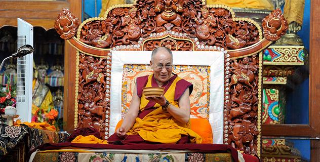 Завершился визит Далай-ламы в Хунсур
