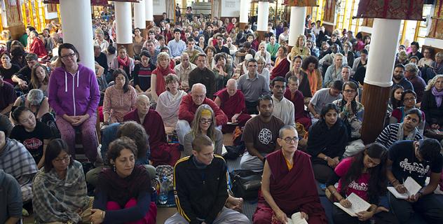 Его Святейшество Далай-лама даровал в Дхарамсале учения по просьбе последователей из Юго-Восточной Азии