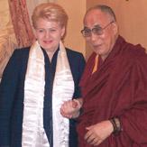 Его Святейшество Далай-лама встретился с президентом Литвы