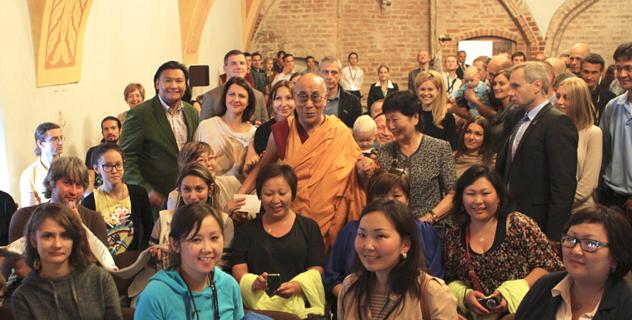 Его Святейшество Далай-лама посетил парламент Литвы и мэрию Вильнюса