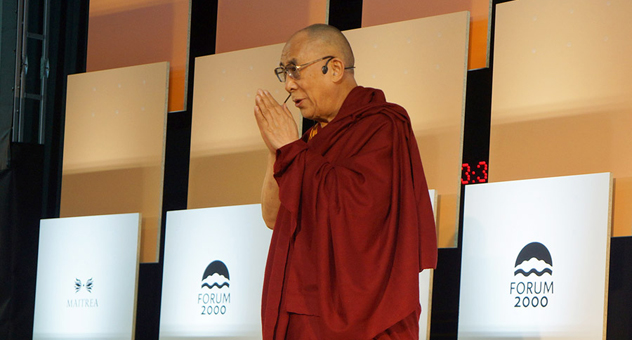 Далай-лама прочитал в Праге лекцию о сострадании и уважении в современном обществе