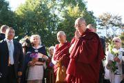 Первый день визита Далай-ламы в Латвию