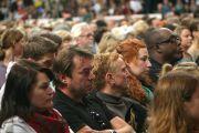 """На лекцию Его Святейшества Далай-ламы в комплексе """"Типспорт Арена"""" собрались более 6000 человек. Прага, Чехия. 14 сентября 2013 г. Фото: Джереми Рассел (офис ЕСДЛ)"""