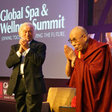 Его Святейшество Далай-лама выступил на конференции, посвященной вопросам спа и оздоровления