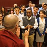 Его Святейшество Далай-лама даровал учения по коренному тексту по махамудре Первого Панчен-ламы Лосанга Чокьи Гьялцена