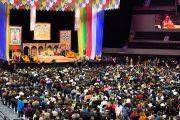 "Зал ""Арена Сьюдад де Мехико"", место проведения учений Его Святейшества Далай-ламы. Мехико, Мексика. 12 октября 2013 г. Фото: Оскар Фернандес"