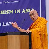 Далай-лама торжественно открыл семинар, посвященный буддийской традиции монастыря-университета Наланда в странах Азии