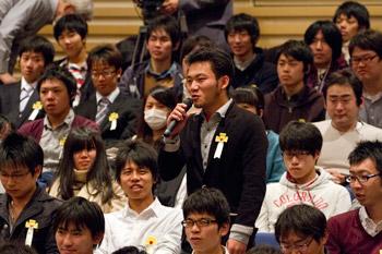 Далай-лама принял участие в обсуждении роли науки и технологий в Тибийском технологическом институте в Японии
