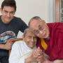 Его Святейшество Далай-лама и Преподобный Дада Васвани
