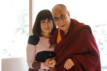 Далай-лама встретился со студентами в киотском университете Сеика