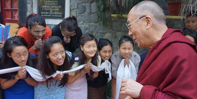 Его Святейшество Далай-лама прибыл в Дели