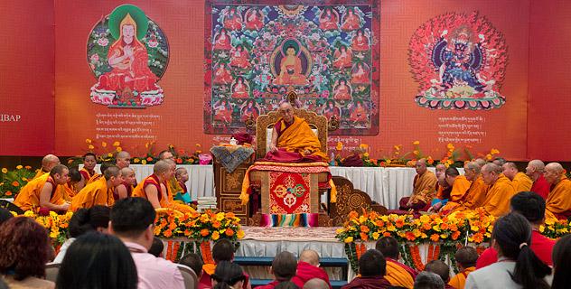 В Дели продолжаются учения для монгольских буддистов