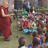 В Дели Далай-лама побеседовал с тибетскими студентами и дал интервью монгольскому телевидению