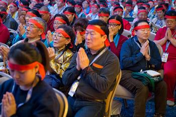 Далай-лама даровал монгольским буддистам посвящение Ваджрабхайравы