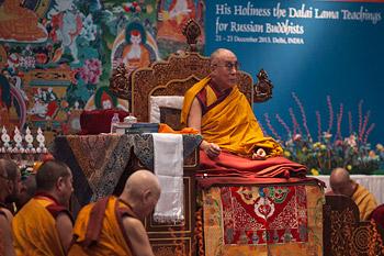 В Нью-Дели прошел первый день учений для российских буддистов