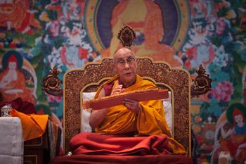 В Дели прошел второй день учений для группы российских буддистов