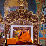 В монастыре Сера Чже начались учения Далай-ламы по ламриму