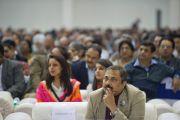 Слушатели выступления Его Святейшества Далай-ламы в Ноиде. 1 декабря 2013 г. Фото: Тензин Чойджор (офис ЕСДЛ)