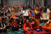 Фото. Учения Е. С. Далай-ламы для буддистов России. День 2