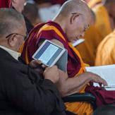 В монастыре Сера Чже прошел девятый день учений Далай-ламы по ламриму
