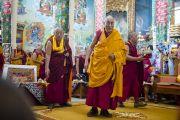 В монастыре Сера Чже продолжаются учения Его Святейшества Далай-ламы