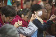 Зкалючительный день учений Его Святейшества Далай-ламы в монастыре Сера Чже, посвящение Авалокитешвары. Билакуппе, штат Карнатака, Индия. 3 января 2014 г. Фото: Тензин Чойджор (офис ЕСДЛ)