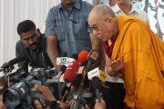 Далай-лама посетил Коимбатур