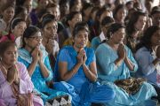 Во время выступления Его Святейшества Далай-ламы в центре Нагалока. Нагпур, штат Махараштра, Индия. 8 января 2014 г. Фото: Тензин Чойджор (офис ЕСДЛ)