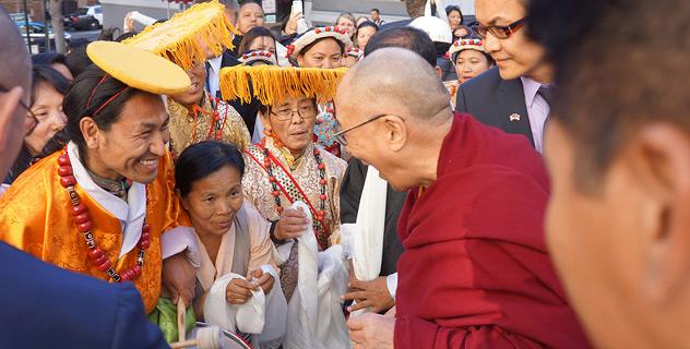Его Святейшество Далай-лама прибыл в Сан-Франциско
