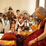 Далай-лама встретился с тибетцами, живущими в Калифорнии