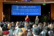 Его Святейшество Далай-лама на встрече с китайскими студентами, организованной Тибетско-американской студенческой ассоциацией. Миннеаполис, штат Миннесота, США. 1 марта 2014 г. Фото: Сонам Зоксанг