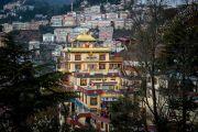 Ньингмапинский монастырь Туптен Дордже Драк в Шимле, штат Химачал Прадеш, Индия. 18 марта 2014 г. Фото: Тензин Чойджор (офис ЕСДЛ)